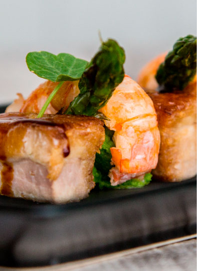 Pork Belly with Langoustine Tail