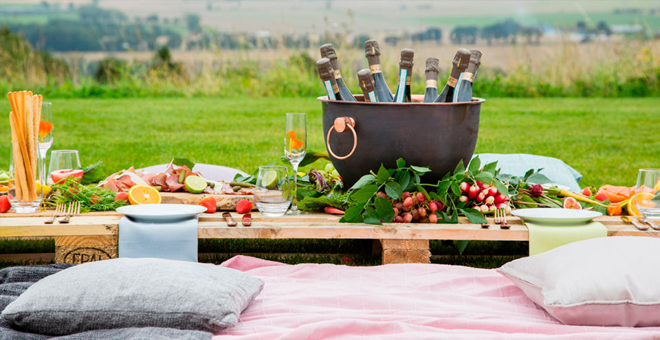 Luxury Picnic in the countryside