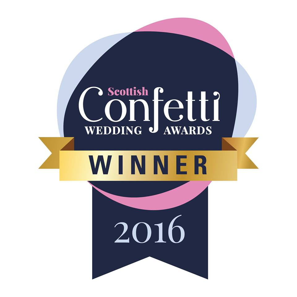 Scottish Confetti awards 2016 Winner