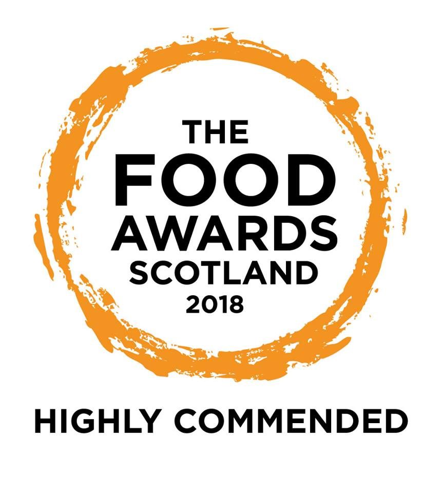 The Food Awards Scotland 2018 Highly Commended