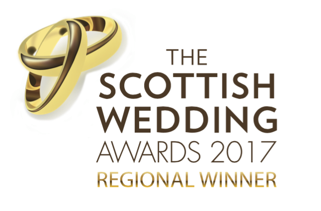 The Scottish wedding awards 2017 Regional Winner